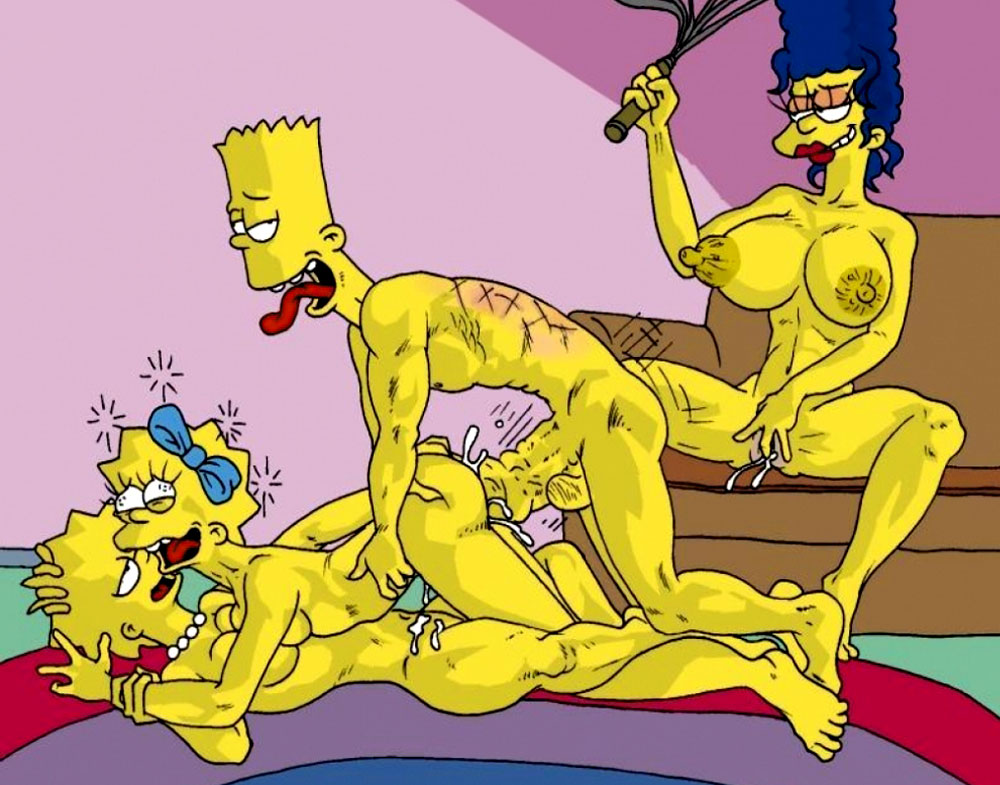lisa simpson naked and having orgasm